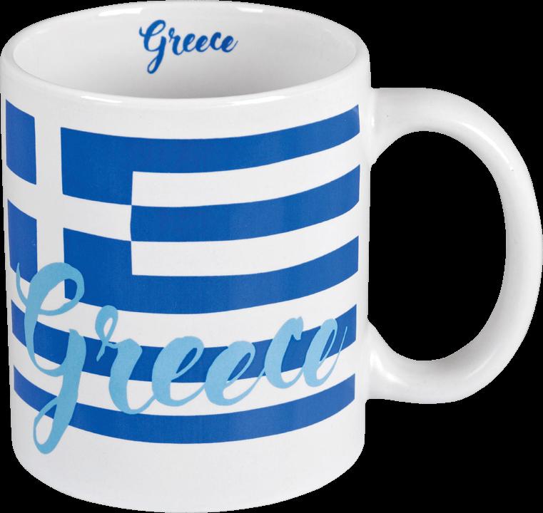 Beker Griekse vlag