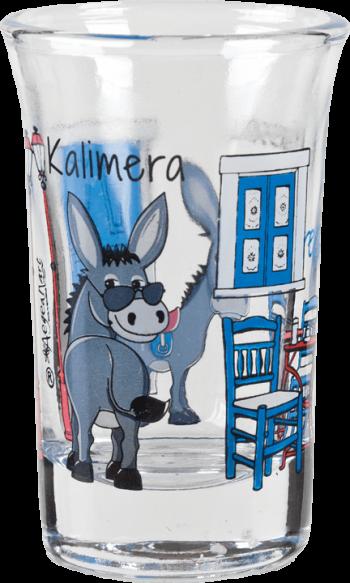 borrelglaasje kalimera greece 1
