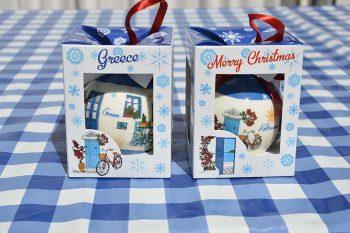 kerstbal Grieks tafereel 2