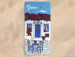 Griekse strandhandoek