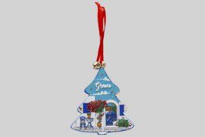 Kersthangertje Greece