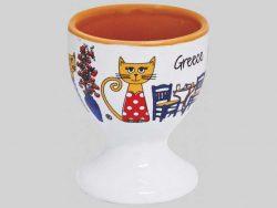 Grieks eierdopje kat