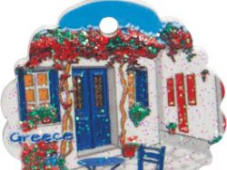Griekse kersthanger rond