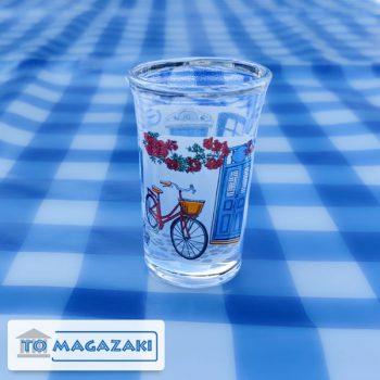 ouzo glaasje grieks tafereel fiets 3