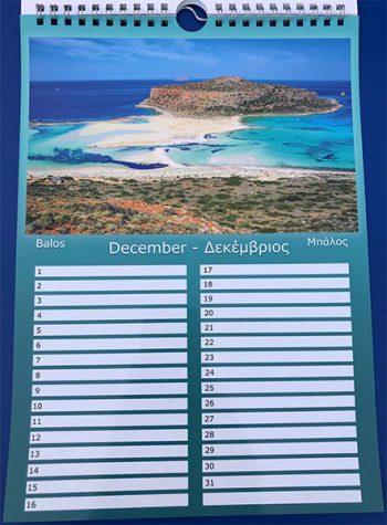 Verjaardagkalender Kreta Griekenland