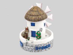 miniauur beeldje Griekse molentje