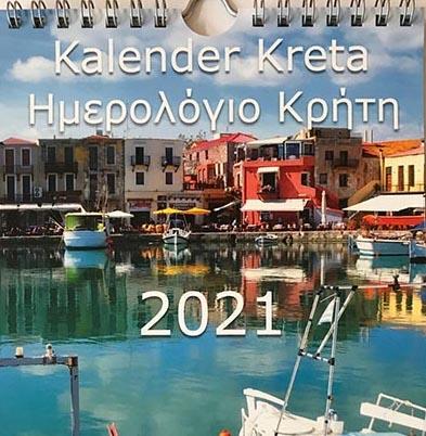 Kalender Kreta 2021 A5