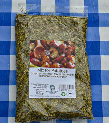 Griekse aardappels kruidenmix