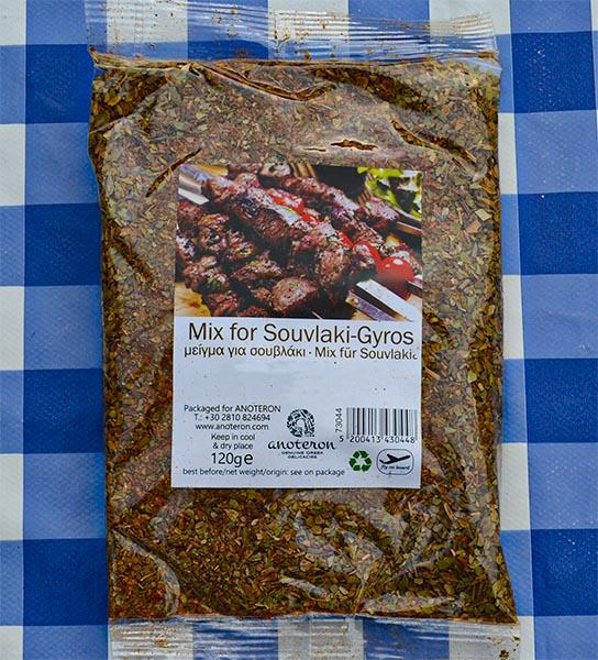 griekse Kruiden voor Gyros Souvlaki