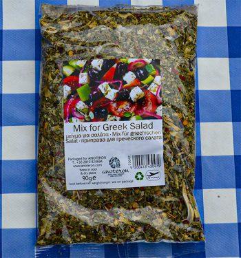 Griekse kruidenmis salade