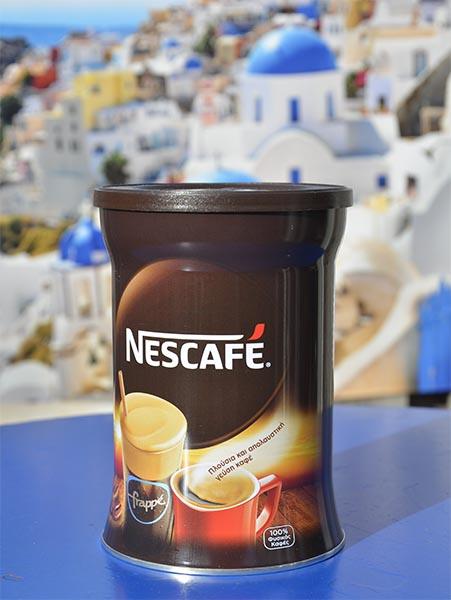 Nescafé voor frappé ijskoffie