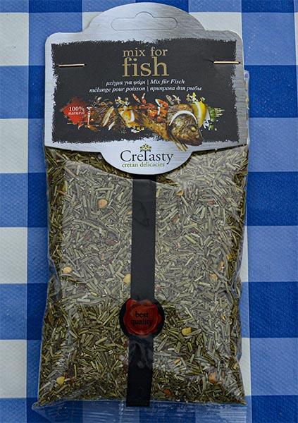 Griekse Kruidenmix voor vis
