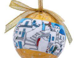 gouden-kerstbal-klein-cycladen