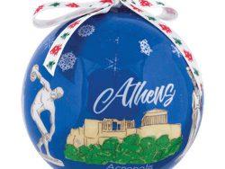 goude-kerstbal-klein-athens