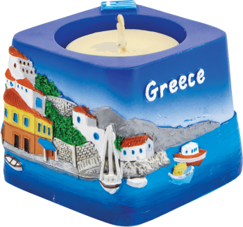 Grieks waxinelichthoudertje