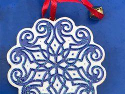 Ronde kersthanger Griekse molen