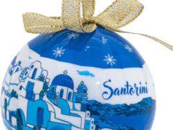 Griekse Kerstbal Santorini