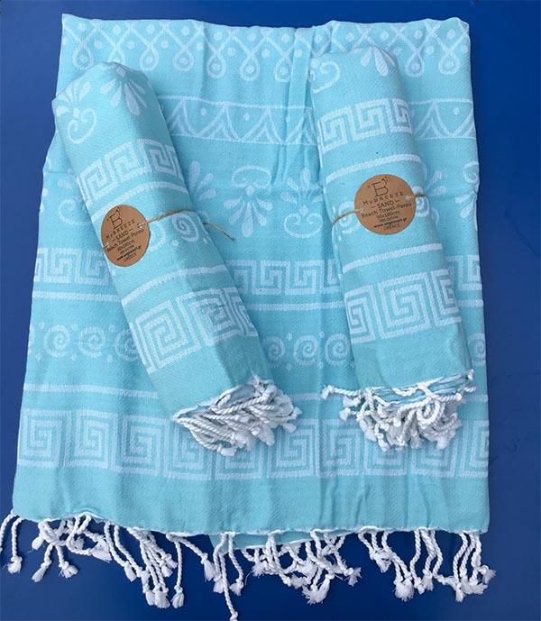 hamam handdoek pareo lichtblauw