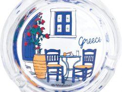 Asbak Grieks tafereel