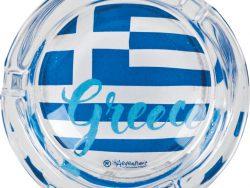Asbak Griekse vlag