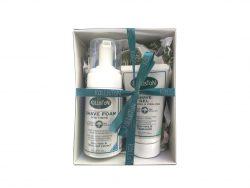 Giftbox men aftershave gel en scheerschuim