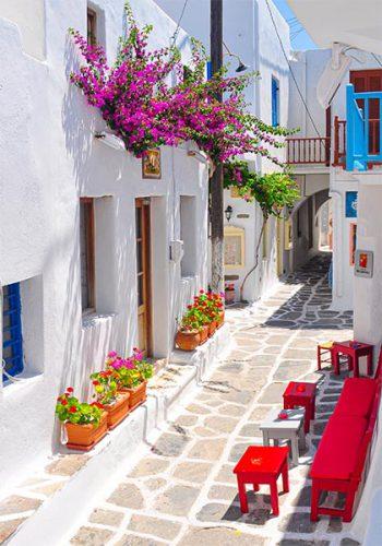 Straatje Griekenland