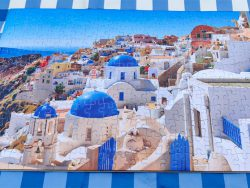 Puzzel Santorini fotopuzzel