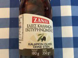 Kalamon Griekse olijven
