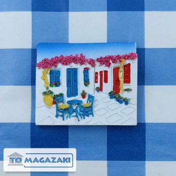 magneetje grieks terrasje
