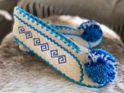 pantoffel Blauw 42