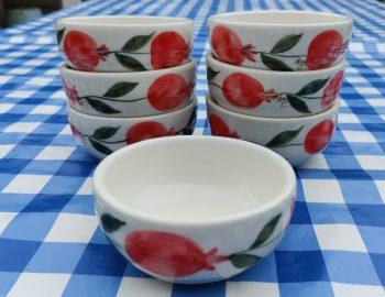 Schaaltjes-keramiek-pomegranate