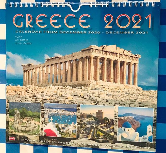 Kalender Greece Griekenland