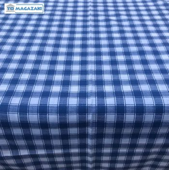 Grieks tafelkleed blauw geruit