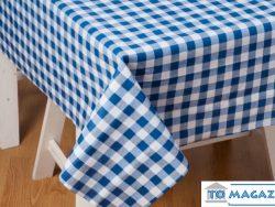 Grieks tafelkleed taverna blauw geruit